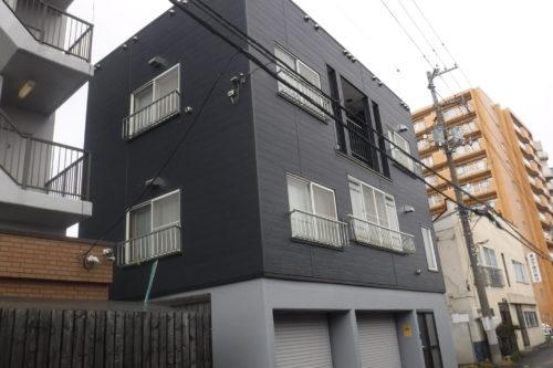 玄関断熱リフォームドア工事  札幌市 S